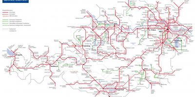 Obb austrian rail map
